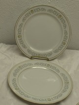 Rose China Japan 2104 Joyce Replacement Dinner Plate set of 2  - $8.90