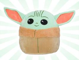 Disney Star Wars Squishmallow Baby Yoda The Child Mini 5 Inches - $16.82