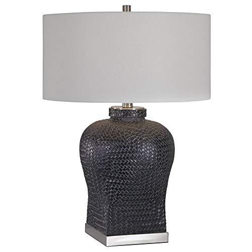 Weave Texture Table Lamp
