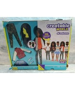 Mattel Creatable World Customize Doll-DC-725 Black Braided Hair-Ages 6+ NEW - $27.10