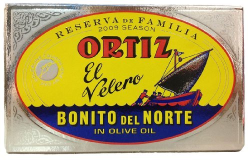 Primary image for Ortiz Reserva Familia White Tuna in Olive Oil, 112 Gram, 3.95 Ounce