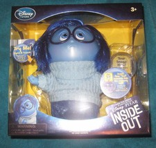 """Inside Out Deluxe Talking Sadness Doll Authentic Disney Store 7.5 """" New. - $36.29"""