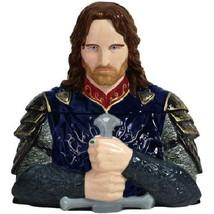 The Lord of the Rings Aragorn Bust Figure w/ Sword Ceramic Cookie Jar NE... - $67.72
