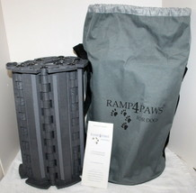 RAMP 4 PAWS Doggy Ramp w/ Duffle Bag Carry Case ~ 10 Link Size ~ Hardly ... - $54.99