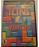 Tetris Worlds (Sony PlayStation 2, 2002) Tested Working - $9.89