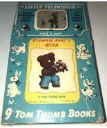 My Little Television Set Of 1949 Tom Thumb Books Rand McNally Brownie Be... - $56.09