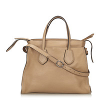 Pre-Loved Gucci Brown Others Leather Ramble Layered Tote Italy - $672.46