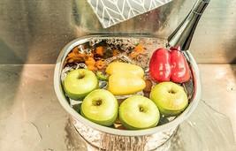 MarketB Stainless Steel Dishpan Basin Dish Washing Bowl Bucket Basket (D Shape) image 2