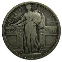 1917 Type I STANDING LIBERTY QUARTER 25¢ Coin Lot# MZ 3230