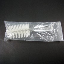 New Vintage Fuller Hair Brush Half Round Hairbrush Clear Acrylic Nylon B... - $74.99