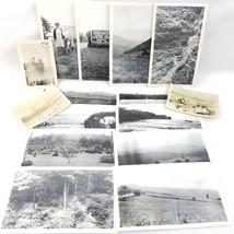 15 Vtg 1930's Black White Snapshot Picture Photo Lot USA San Francisco N... - $7.89