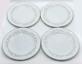 """Vintage Set of 4 Sheffield Elegance 10"""" Dinner Plate Fine China Japan 502 - $19.79"""