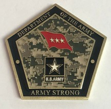 Dept of the Army Deputy Chief of Staff G-1 Excellence Award ARMY STRONG Coin - $74.24