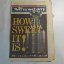 Newsday Long Island June 15 1994 Stanley Cup Rangers Champions 8C - $39.99