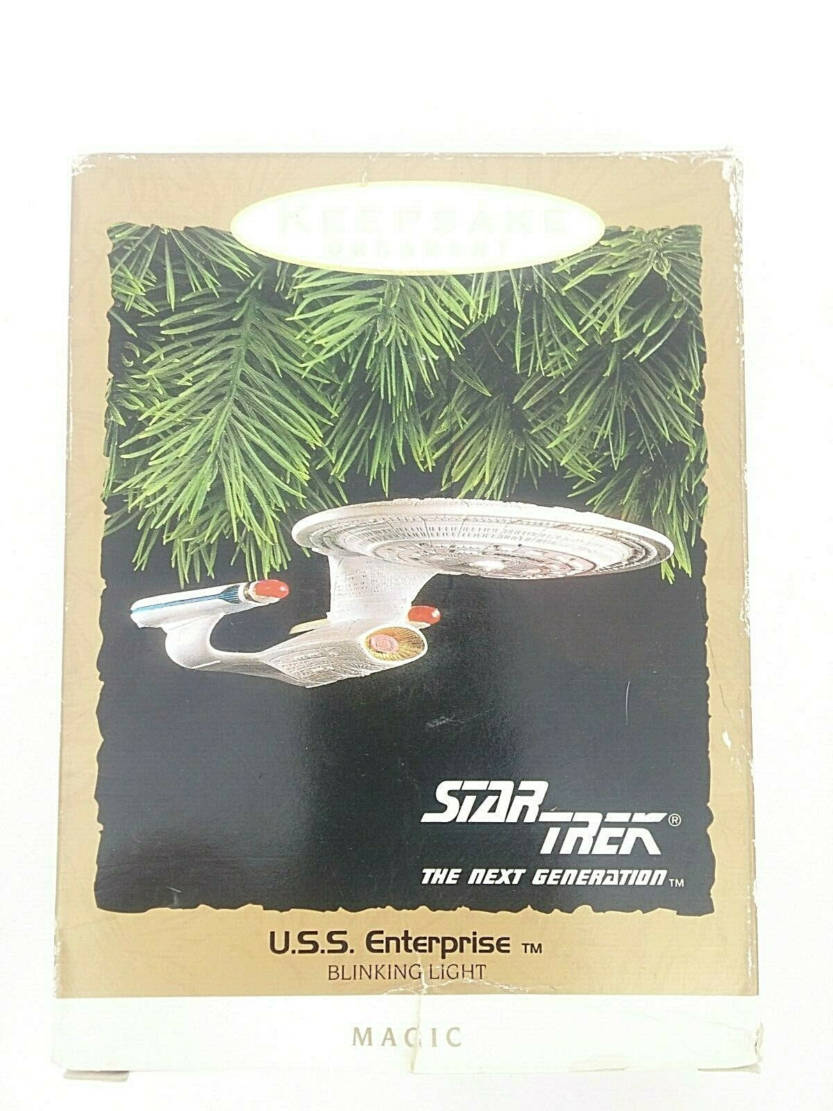 Primary image for Hallmark Keepsake Star Trek The Next Generation USS Enterprise. 1993.  New