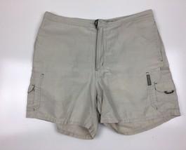 Womens Columbia  Khaki Cargo   Short  Pant  size 35 EUC - $14.98