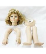Vintage porcelain doll parts jan hagara 1989 - $43.27