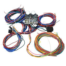 12 Circuit Street Hot Rat Rod Custom Universal Color Wiring Wire Kit XL WIRES image 8