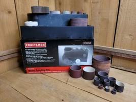 Sears Craftsman 21 Piece Drum Sanding Kit for Finish & Contour Sanding +... - $35.63