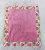 Blankets Beyond Baby Lovey Security Blanket Pink Polka Dot Satin Green  ... - $43.65 CAD