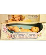"Vintage 1985 21""  Anatomically Correct Barval La New Born Baby Doll Baby Girl - $98.01"