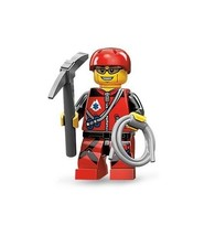 NEW LEGO MINIFIGURES SERIES 11 71002 - Mountain Climber - $4.75