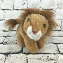 Fiesta Lion Plush Golden Brown Standing Stuffed African Animal Soft Toy - $9.89