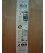 Vintage Vanish Sanette & Vermex Shampoo Small Print Magazine Advertiseme... - $4.99