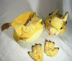 Disney Store Baby Simba Lion King Plush Costume 6-12 Months EUC - $569,60 MXN