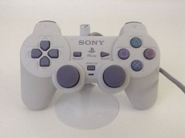 Playstation One PS1 Original Analog Controller Gray Sony Computer Entert... - $24.70