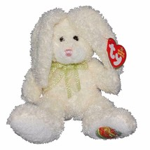 Hoppily The Easter Bunny Rabbit Ty Beanie Baby Retired MWMT Hallmark Exc... - $9.85