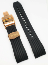 Original Seiko SSE055J Black Rubber Watch Band-R012011P0 - $148.50