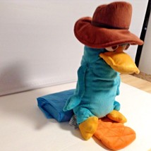"Disney Store Phineas & Ferb Plush Perry Platypus 16"" tall Stuffed Animal... - $7.26"