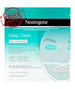 Face Mask Hydrogel Neutrogena Deep Clean 100% 30ml 1 Mask - $23.36