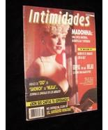 Intimidades Mexico July 17 1990 Madonna Elizabeth Taylor and More - $17.99