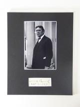 William Borah SIGNED Matted 8x10 Display Senator Idaho Autographed Vintage - $108.85