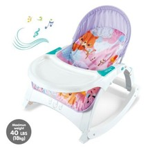 Electric Portable Baby Swing Cradle For Infants Rocker Swing Chair With Music FR - $126.44