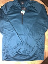 Nike Mens Therma Training Pullover Medium Midnight Turquoise BNWTS 80018... - $37.50