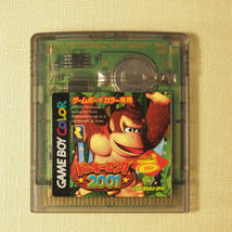 Donkey Kong 2001 Complete in Box (Nintendo Gameboy Color GBC, 2001) Japan image 9