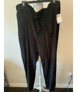 Everlast Women Pull-on Velour Athletic Causal Pants Drawstring Pockets B... - $19.95