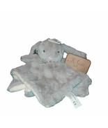 "K. Luxe Baby Kellytoy Gray Rabbit Rattle Security Blanket 14"" x 14"" - $17.82"