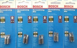 Bosch SL1012102 10-12 Slotted Screw Tips 5 Packs USA - $2.97