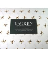 Ralph Lauren Beagles on White Sheet Set, Queen - $87.00