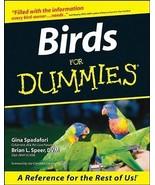 Birds for Dummies : Gina Spadafori : New Softcover  @ZB - $15.35
