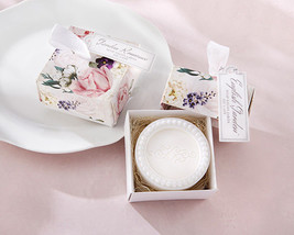 English Garden Tea Rose Spring Soap Bridal Wedding Favor Gift Boxed 25 5... - $85.45+