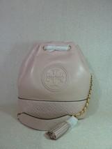 Nuova con Etichetta Tory Burch Shell Rosa pelle Fleming Medio Secchiello... - $440.52
