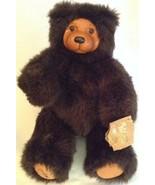 1989 Raikes Bears Applause Plushy Dark Brown Cookie 660330 Wood Head & Feet - $27.72
