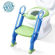 Potty Training Toilet Seat with Step Stool Ladder for Kids Children Baby... - $45.30