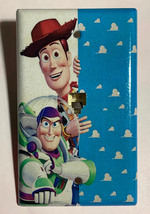 Toy Story Woody Buzz Lightyear Light Switch Power Outlet Wall Cover Plate Decor image 2