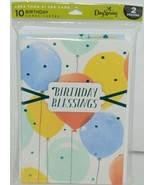Day Spring WW1015 Birthday Blessings Cards Contains 5 each of 2 Designs ... - $7.99